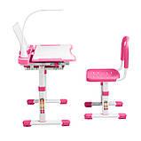 Эргономический комплект Cubby парта и стул-трансформеры Vanda Pink, фото 5