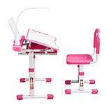 Эргономический комплект Cubby парта и стул-трансформеры Vanda Pink, фото 6