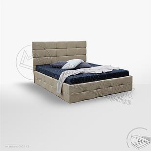 Мягкая кровать Бристоль ТМ Миро Марк с подъемным механизмом