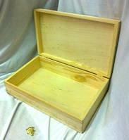 Коробка Пенал 35х21х10 см дерево заготовка для декора