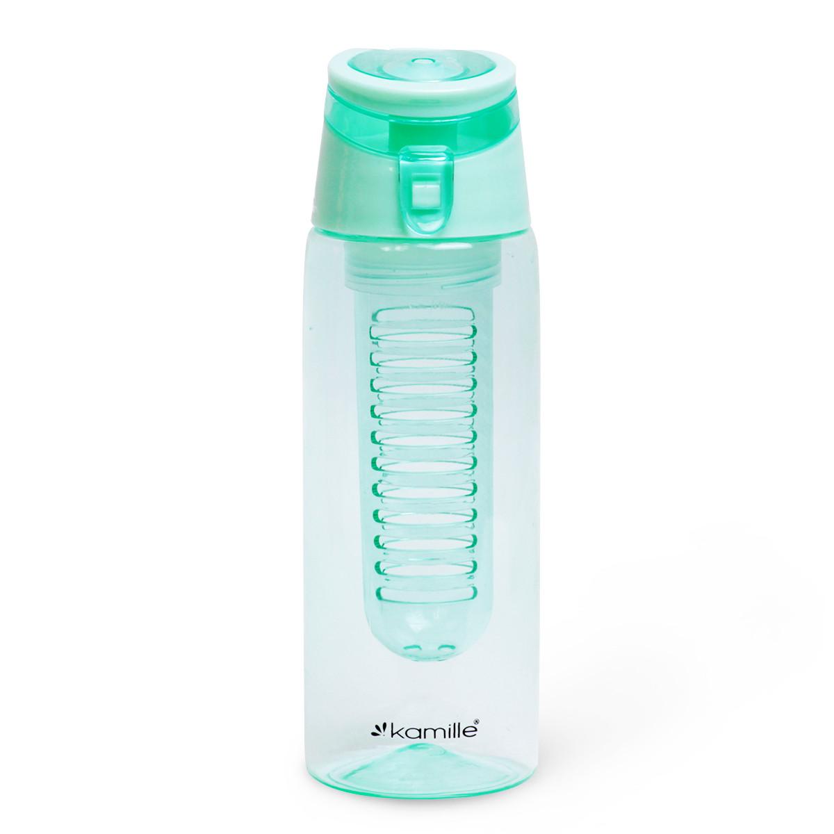 Спортивная бутылка для воды Kamille Бирюзовый 660ml из пластика KM-2303BR