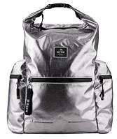 НОВИНКА! Красивый и стильный рюкзак серебристого цвета