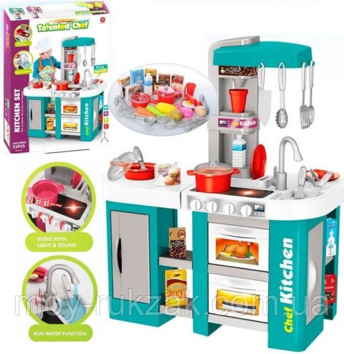 Детская игровая кухня, Kitchen Chef с водой, звуковые эффекты, аксессуары, 61х72,5х33 см, 922-46