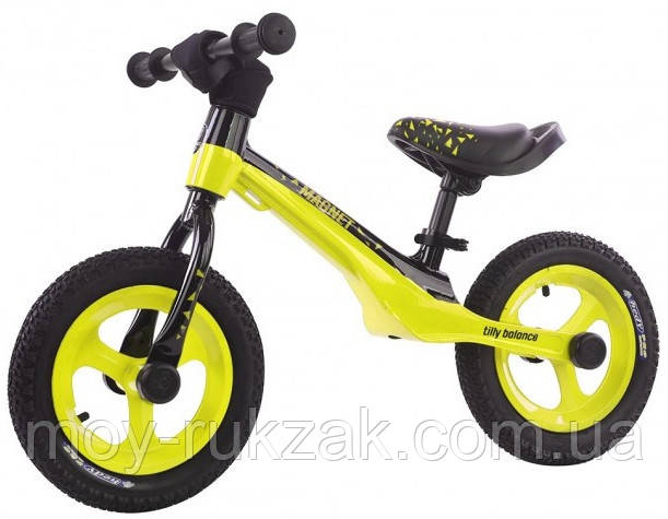 "Беговел детский BALANCE TILLY 12"" Magnet T-212522 Yellow, желтый"