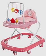 Детская каталка-ходунки, интерактивные, Tilly Smile, T-4210-ROSE
