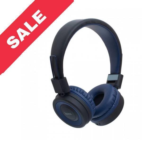 Bluetooth навушники HOCO W16, Blue
