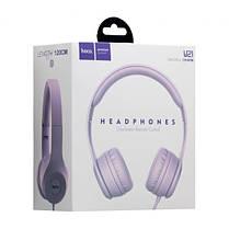 Bluetooth навушники HOCO W21 Violet, фото 2