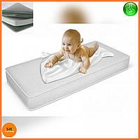 """Матрас детский для кроваток """"Lux baby®Air"""" ECO, размер 120*60*8см + наматрасник в подарок"""