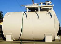 Резервуар горизонтальный стальной наземный РГСН-10 м3