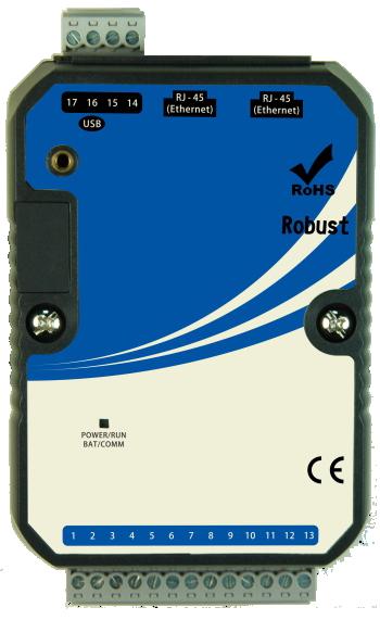 Модуль A-1960, 5DI, 4DOR (250VAC 5A, 30VDC 5A), Ethernet*2, USB (для программирования)