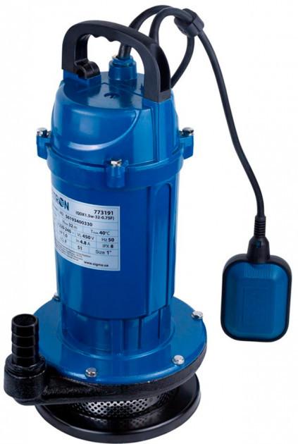 Насос Wetron дренажный 0.37 кВт Hmax 15 м Qmax 140 л/мин (773191)