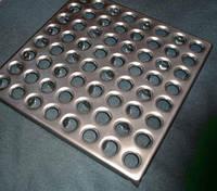 Плитка металлическая для промышленных полов S=1,5мм.