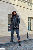 Женская куртка осень/весна батал/ большие размеры