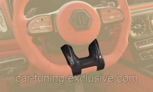 MANSORY steering wheel panel for Mercedes G-class