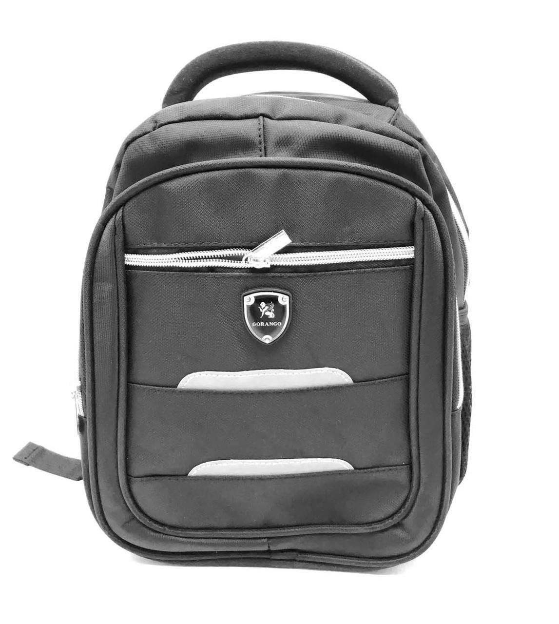 Маленький рюкзак Gorangd черный (98010-12)