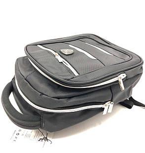 Маленький рюкзак Gorangd черный (98010-12), фото 2