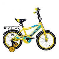 Велосипед SPARK KIDS MAC TV1401-001 Жовтий (безкоштовна доставка)