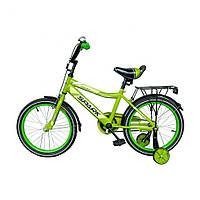 Велосипед SPARK KIDS MAC TV1401-001 Зелений (безкоштовна доставка)
