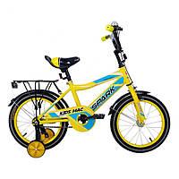 Велосипед SPARK KIDS MAC TV1201-001 Жовтий (безкоштовна доставка)