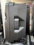 Аккумуляторная беспроводная колонка чемодан Ailiang LiGE-1709, портативная Bluetooth акустика, сабвуфер, фото 8