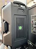 Аккумуляторная беспроводная колонка чемодан Ailiang LiGE-1709, портативная Bluetooth акустика, сабвуфер, фото 9