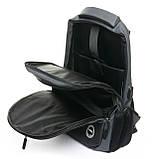 Рюкзак міський Lanpad 30 x 45 x 18 см Сірий (2216/3), фото 4