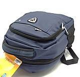 Рюкзак міський Gorangd 30 x 38 x 13 см Синій (1956/2), фото 5