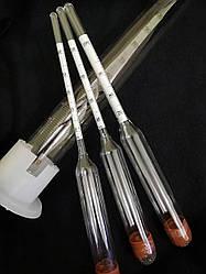 Набор спиртометров (ареометров) (ГОСТ) АСП – 3+мерная колба (ЧЕРНИГОВ)
