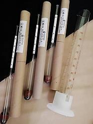 Набор спиртометров (ареометров) (ГОСТ) АСП – 3+мерная колба (МАРИУПОЛЬ)