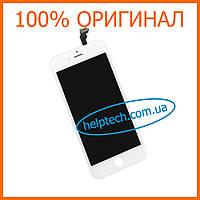 Дисплейный модуль для iPhone 6 Белый Оригинал (LCD экран, тачскрин, стекло в сборе) White Original