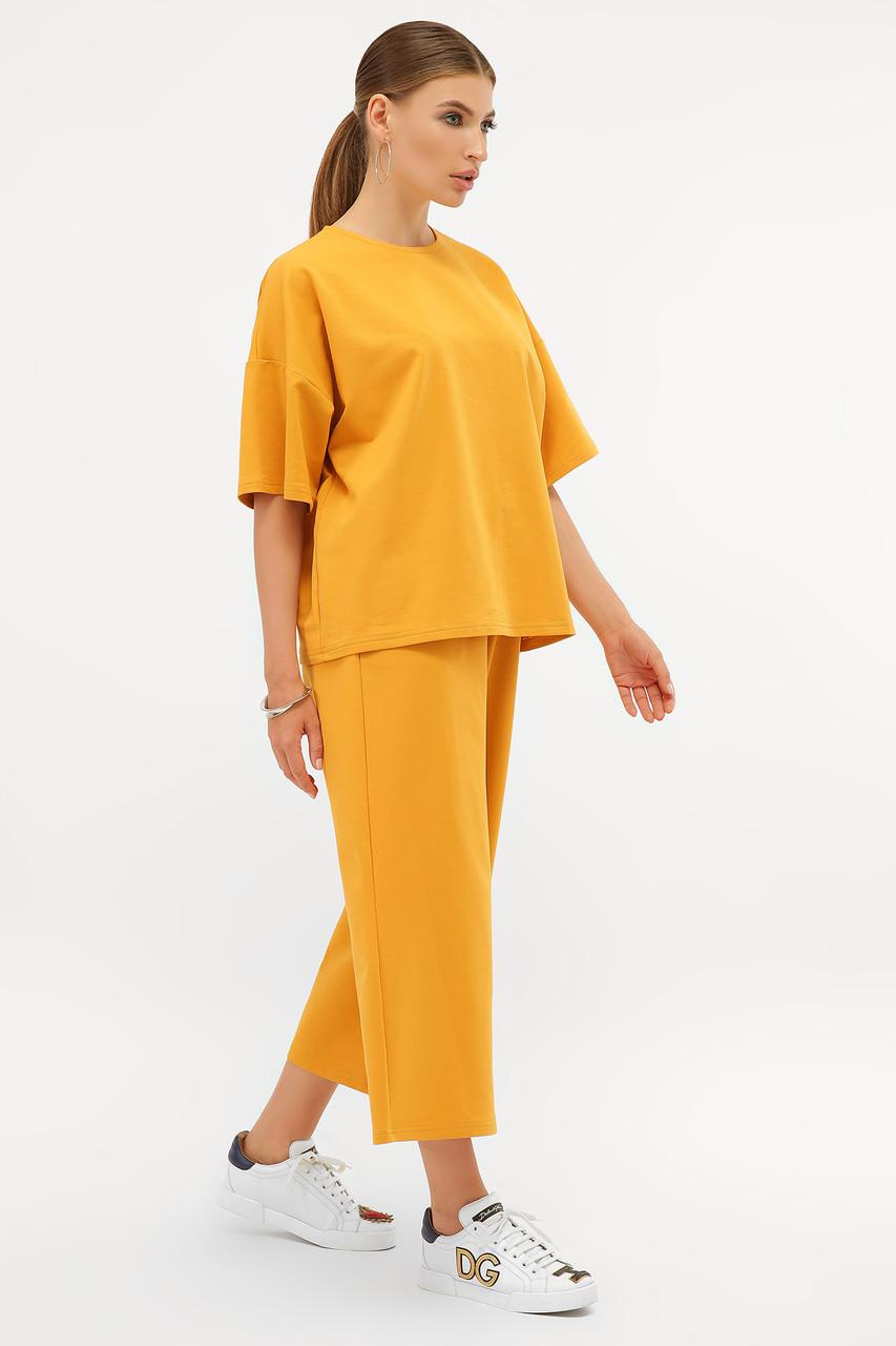Модный костюм из хлопка Бермуды и футболка оверсайз S M L XL