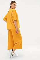 Модный костюм из хлопка Бермуды и футболка оверсайз S M L XL, фото 3
