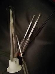 Набор спиртометров (ареометров) (ГОСТ) АСП – 3+мерная колба (ЛЬВОВ)