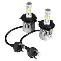 Лампы светодиодные автомобильные Partol S2 H4 P43T 12В 72Вт 8000лм