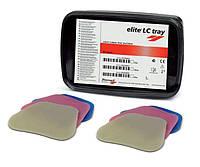 Elite LC tray, 50 шт, фотополімерна пластмаса для виготовлення індивідуальних ложок в пластинах, елит лс трей
