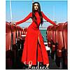Вечернее макси платье с молнией от плеча до бедра (2 цвета) 08154