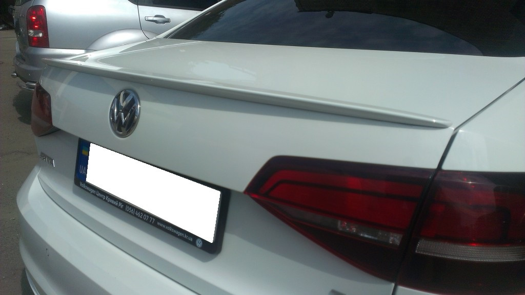 Lip-спойлер на багажник VW Jetta 2011-2017 ABS-пластик