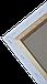 Холст на подрамнике Factura Unico3D 20х20 см Итальянский хлопок 326 грамм кв.м. мелкое зерно белый, фото 4