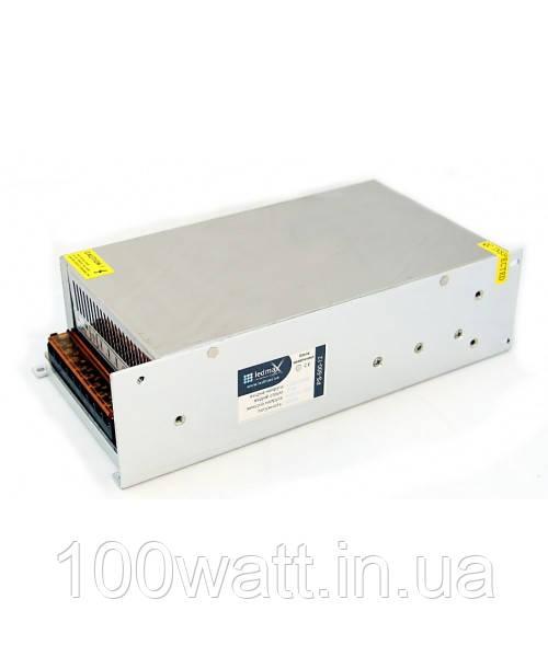 Блок питания для светодиодной ленты 400Вт 12В 33А с кулером  ST81