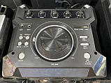 Аккумуляторная колонка чемодан Ailiang UF-1032-DT, беспроводная 10 дюймовая акустика, комбоусилитель, микрофон, фото 8