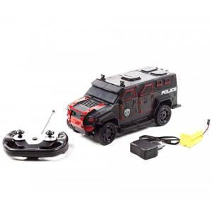 Позашляховик на радіокеруванні GTM Поліція (чорно-червоний)