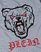 Свитшот мужской меланж PHILIPP PLEIN с принтом Медведь злой №2 Р-2 GRI M(Р) 20-544-201, фото 3