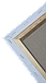 Холст на подрамнике Factura Unico3D 50х60 см Итальянский хлопок 326 грамм кв.м. мелкое зерно белый, фото 4