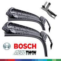 650/650мм VW Touareg 2010-- дворники Bosch AeroTwin A034S Склоочисники