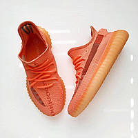 Рожеві жіночі кросівки Adidas Yeezy Boost 350, фото 1