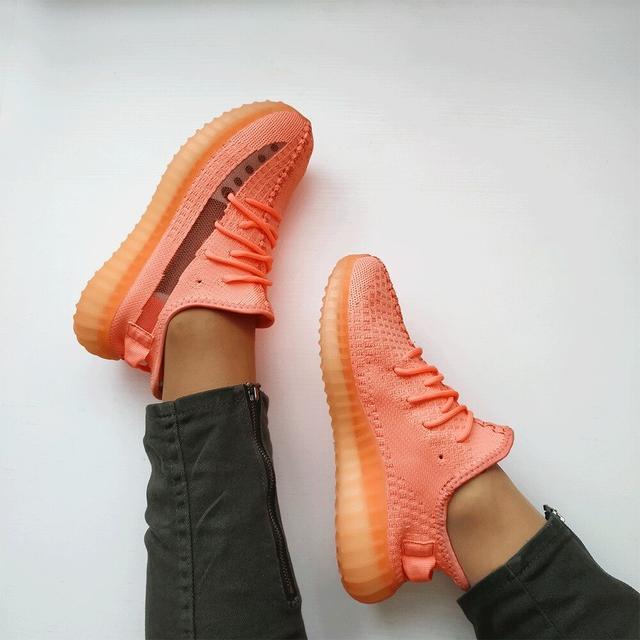 Женские кроссовки Adidas Yeezy Boost 350 Pink  фото
