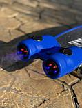 Пенні борд, скейт дитячий Fire 304, Турбіни зі світлом, парою, димом і музикою, світяться колеса, Синій, фото 3