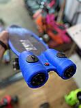 Пенні борд, скейт дитячий Fire 304, Турбіни зі світлом, парою, димом і музикою, світяться колеса, Синій, фото 7