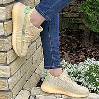 Женские кроссовки Adidas Yeezy Boost 350 v2 Gold, кросівки жіночі