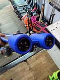 Пенні борд, скейт дитячий Fire 304, Турбіни зі світлом, парою, димом і музикою, світяться колеса, Синій, фото 6